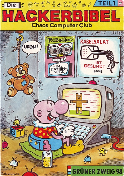 Deckblatt der Hackerbibel 1